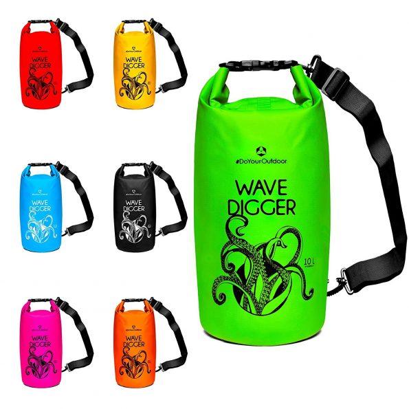 Du bist gerne im Wasser unterwegs? Dann kannst Du Dir jetzt einen Drybag & Seesack kaufen und Deine Wertsachen beim Schwimmen und Tauchen in einem wasserdichten Beutel schüzen.